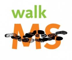 MS walk logo